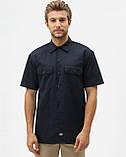 Рубашка Dickies Short Sleeve Work Shirt, Dark Navy, фото 3