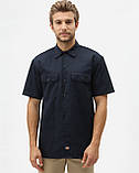 Сорочка Dickies Short Sleeve Work Shirt, Dark Navy, фото 3
