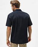 Рубашка Dickies Short Sleeve Work Shirt, Dark Navy, фото 4