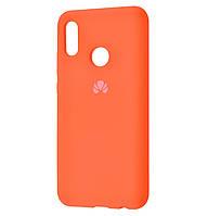 Чехол-накладка Original Silicone case для Huawei P Smart (2019) / Honor 10 Lite Orange