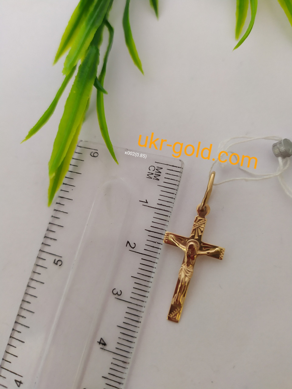 Золотий хрест 585 проби