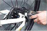 Велосипедный ключ отвертка ROCKBROS RB-GJ1601 Мультитул многофункциональный набор инструментов для ремонта, фото 10