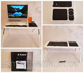 Столик подставка для ноутбука с кулером  LD09