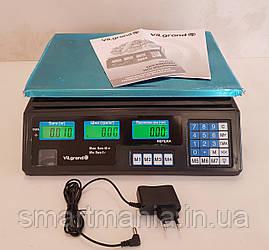 Весы торговые электронные  Vilgrand VES-6V-40
