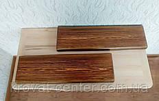 Навісна полиця з закругленими кутами і невидимим кріпленням від виробника 1400х170х35 мм. (колір на вибір)
