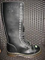 Ботинки STEEL 139/140/0 ботинки 20 дыр. прозрачная подошва (кожа, шкіра, черевики)