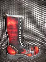 Ботинки STEEL 135/0/YBR ботинки 15 дыр. (кожа, стальной носок, шкіра)