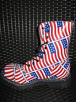 Steel 105/106/0 FLUS ботинки 10 дыр. США