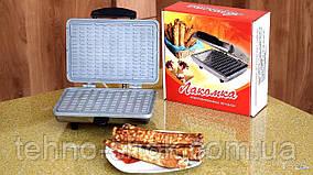 Вафельница электрическая Лакомка 800 Ват, Россия  (нержавейка)