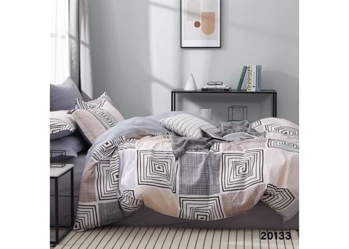 Комплект постельного белья семейный ранфорс 20133