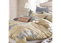 Комплект постельного белья Евро ранфорс 20105, фото 1
