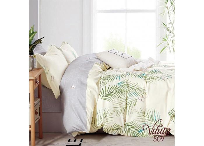 Комплект постельного белья Евро Сатин Twill 509