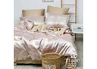 Комплект постільної білизни Євро Сатин Жакард 2022 Tiare™, фото 1