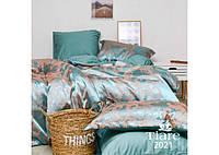 Комплект постільної білизни Євро Сатин Жакард 2021 Tiare™, фото 1