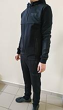 Спортивный костюм Puma черный трикотаж