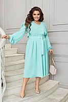 Женское платье большого размера.Размеры:48/50,52/54,56/58+Цвета
