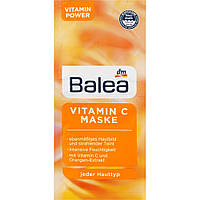 Balea Maske Reinigend 2 x 8 ml Очищаюча маска для обличчя з білою глиною і цинком 16 мл
