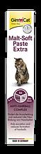 Паста для выведения шерсти Gimcat Malt-soft ДжимКэт Мальт-софт экстра и улучшения моторики желудка, 20 г