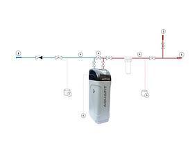 Фильтр-умягчитель для воды AQUAFIT ACTIVE 22, фото 3