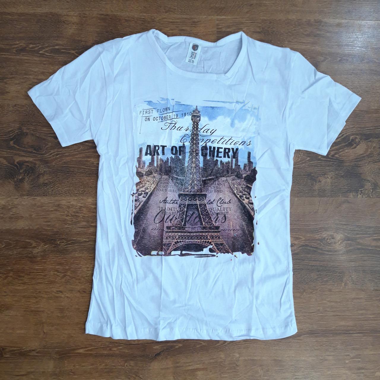 """Чоловічі футболки бавовна """"MRE"""" Туреччина XL"""