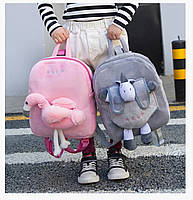 Детские плюшевые рюкзаки