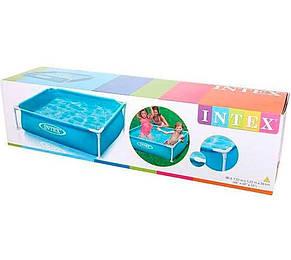 Каркасный бассейн Intex 57173, 122-122-30см, детский, фото 2
