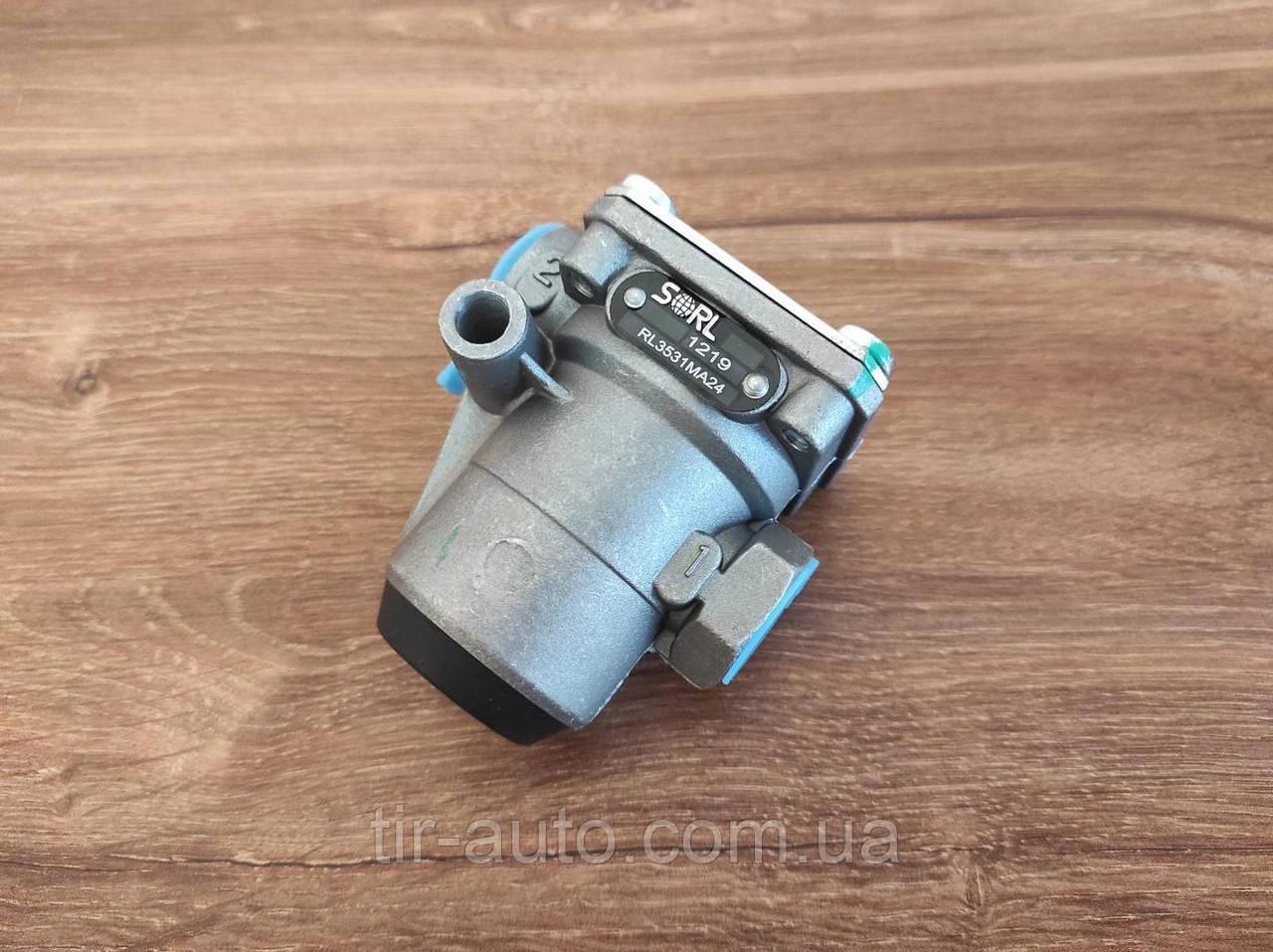Клапан обмеження тиску MAN TGA, F90, MERCEDES MK (10 Бар; M16x1,5мм ) ( SORL ) RL3531MA24-SL