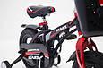 Дитячий легкий магнієвий велосипед зі складним кермом MARS-14 Дюймів Чорний від 4 років, фото 5