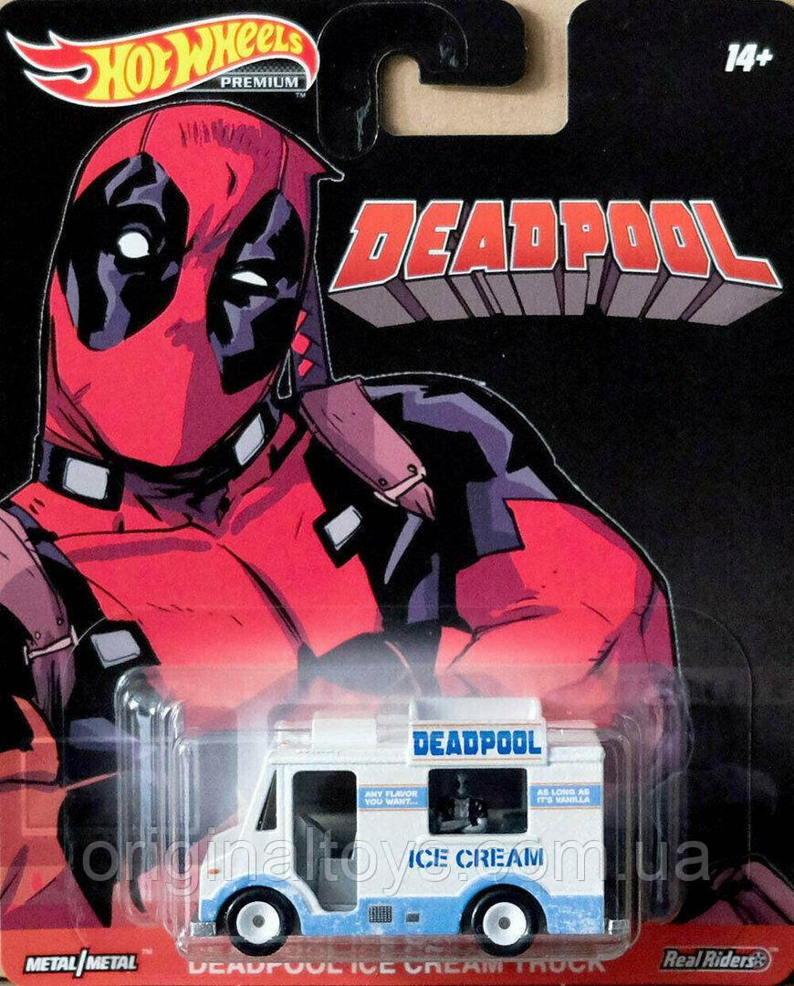 Коллекционная модель Hot Wheels  Deadpool Ice Cream