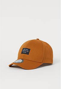 Кепка для мальчика коричневая H&M разм.8-12лет( 53-55см)