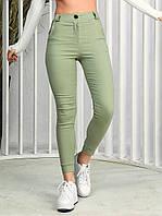 Жіночі брюки - джоггеры 160 (42-44, 44-46, 48-50, 52-54) (колір: чорний, оливка, хакі, цегла) СП, фото 1