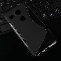 Силиконовый чехол Duotone для LG Google Nexus 5X чёрный
