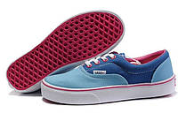 Кеди Vans New Era Double Blue/Pink.  Увага! Щоб ЗАМОВИТИ писати на Viber +380954029358, фото 1