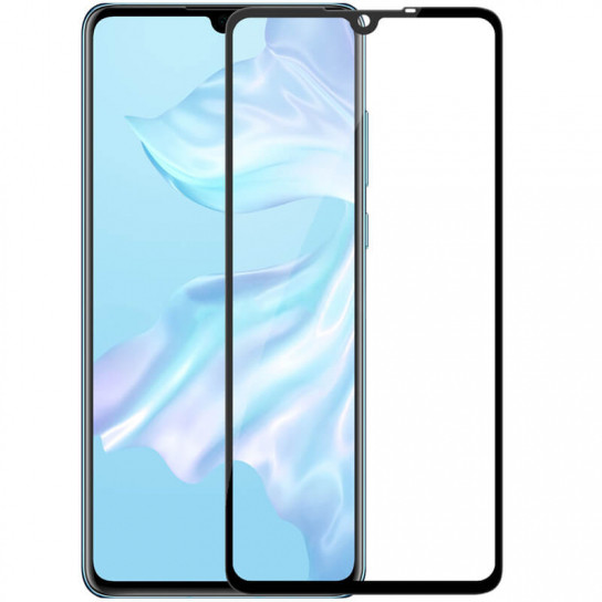 Противоударное защитное стекло Nillkin Anti-Explosion Glass Screen CP+ max 3D для Huawei P30 Ультратонкое