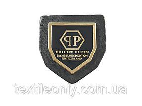 Нашивка philipp plein 30х33 мм