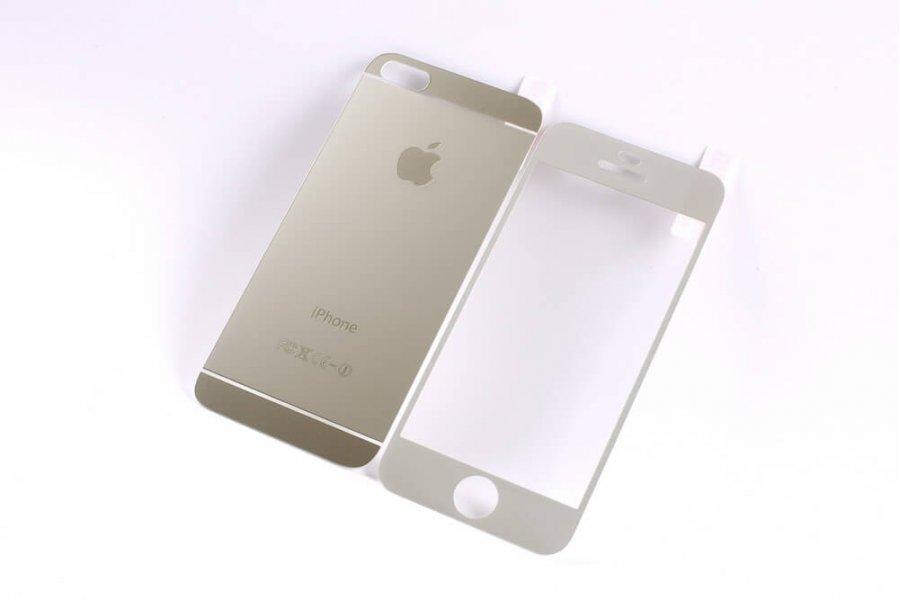 Матовое защитное стекло Grand для iPhone 6/6s Silver