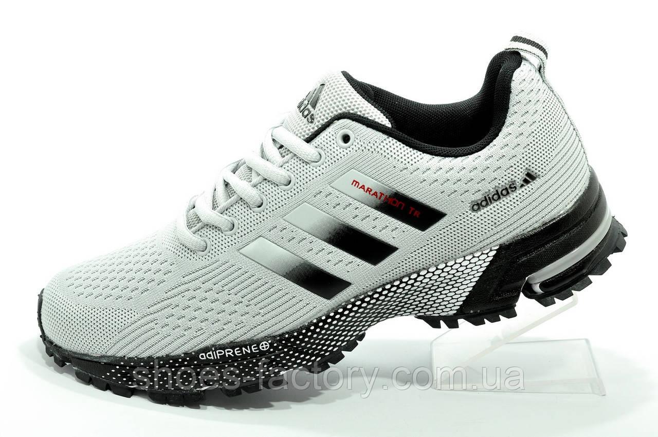 Кроссовки для бега Adidas Marathon TR Gray мужские