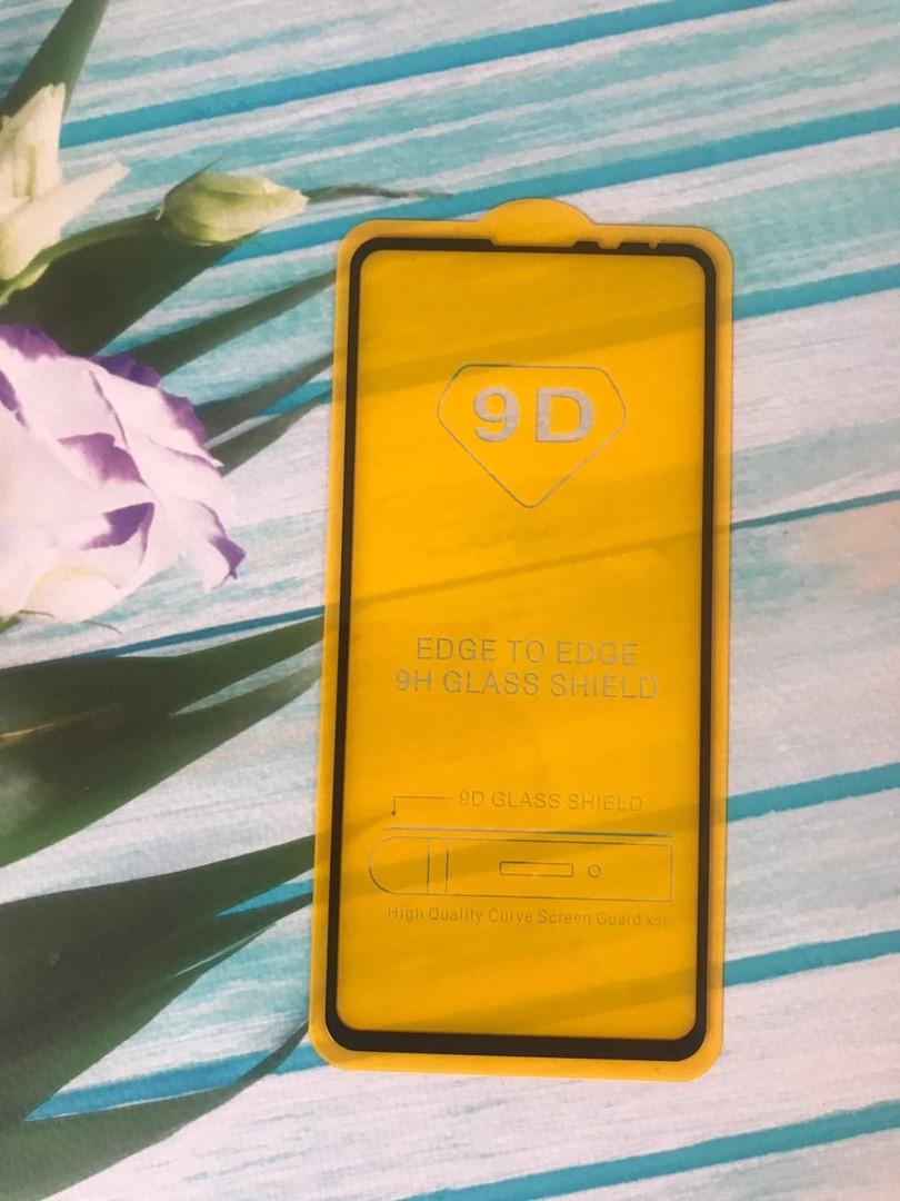 Защитное стекло GLASS 5D для Xiaomi Mi Max 3 Черное (13824)