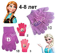 Демисезонные перчатки Холодное Сердце (Frozen) от Disney 4-8 лет, фото 1