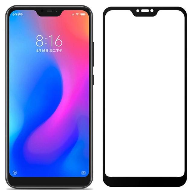 Защитное стекло Walker Full Glue для Xiaomi Mi 8 Lite Черный (hub_VNJv79649)