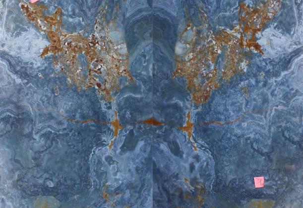 онікс блакитний