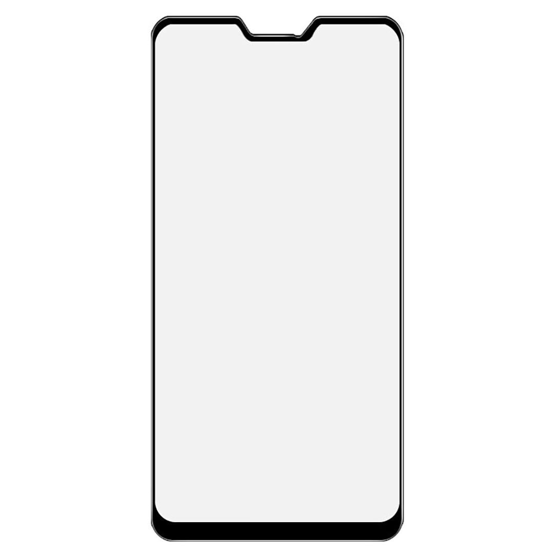 Защитное стекло Walker Full Glue для Asus ZB631KL Zenfone Max Pro M2 Черный (hub_bmBY50135)