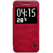 Чехол книжка Nillkin Qin Series Smart для HTC One A9 красный