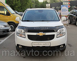 Мухобойка, дефлектор капота Chevrolet Orlando с 2010- г.в.