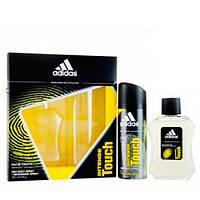 Adidas Intense Touch (туалетная вода мужская 100 мл + дезодорант аэрозольный 150 мл) НАБОР