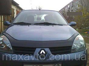 Мухобойка, дефлектор капота Renault Symbol з 2008-2012 р. в.