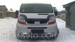Мухобойка, дефлектор капота Renault Trafic з 2001-2015 р. в.