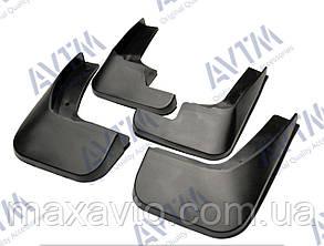 Бризковики повний комплект для Citroen C-Elysee 2012 (1607396780;1607396880), комплект 4шт. MF.CICE2012