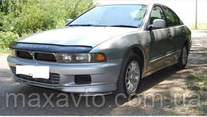 Мухобойка, дефлектор капота Mitsubishi Galant с 1997 – 2003 г.в.
