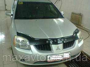 Мухобойка, дефлектор капота Mitsubishi Galant с 2003-2008 г.в.(до ресталинга)